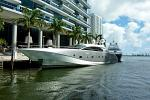 fancy Yacht, Miami River