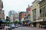 the Gaslamp Quarter is the historic heart of San Diego