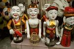 puppets for the Vietnamese water puppet theater
