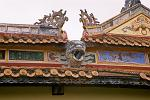 roof decorations, Imperial Palace, Forbidden Purple City