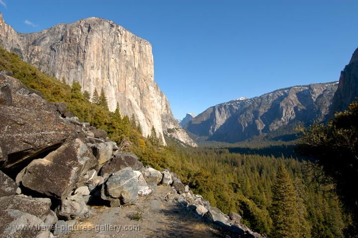 El Capitan towering over the valley